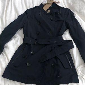 Burberry Brit Navy Trench